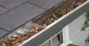 Roof Gutter Guard Installation